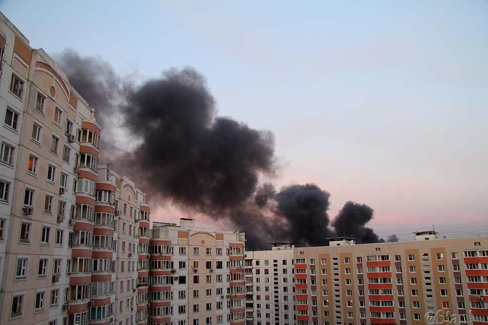 Пожар на Микояновском комбинате