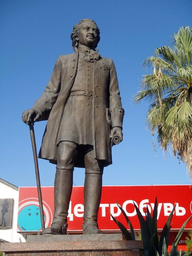 Памятник Петру в Сочи