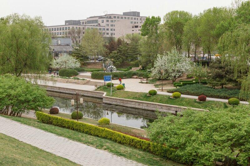 Парк стены династии Юань