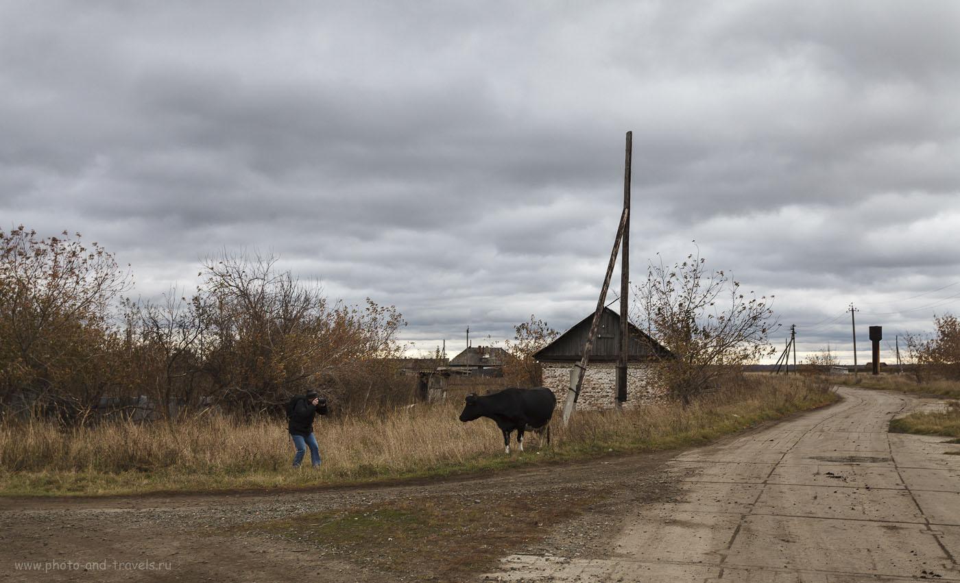 40. Гламурная фотосъемка в деревне. Полнокадровый фотоаппарат Canon EOS 5D Mark II с универсальным зумом Canon EF17-40mm f/4 L USM. Настройки, использованные при съемке: 1/60, 8.0, 100, 40