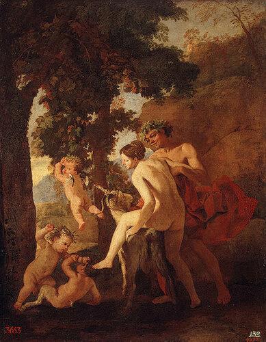 Венера Фавн и путти.Нач.1630-х.jpg