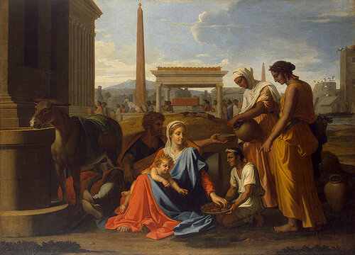 Св.Семейство в Египте1655-1657.jpg