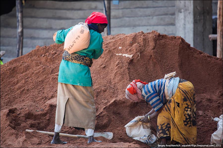 Флудилка: Мужчины и женщины в Африке