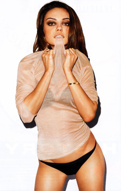 модель Мила Кунис / Mila Kunis, фотограф Terry Richardson
