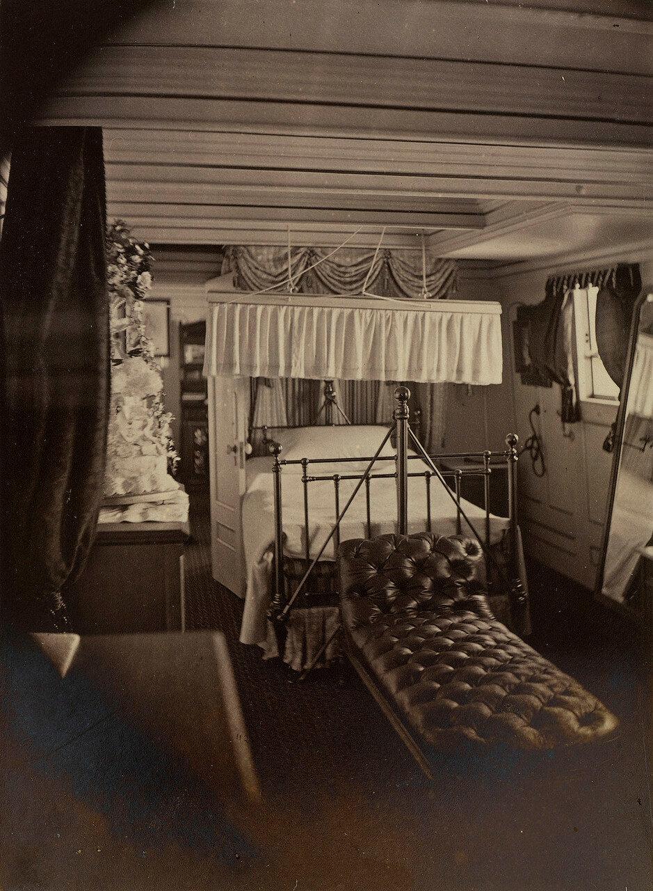 06. Спальня принца Уэльского, HMS «Серапис»