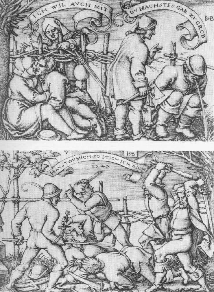 Ганс Зебальд Бехам (Hans Sebald Beham) изобразил на гравюрах 1546 1547  г.г. тему алкоголизма в Германии..jpg