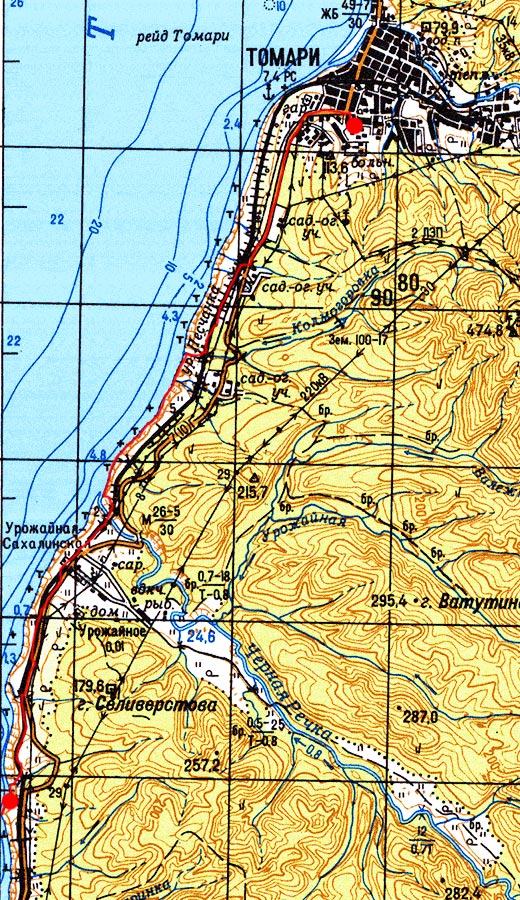 Карта маршрута 29 августа