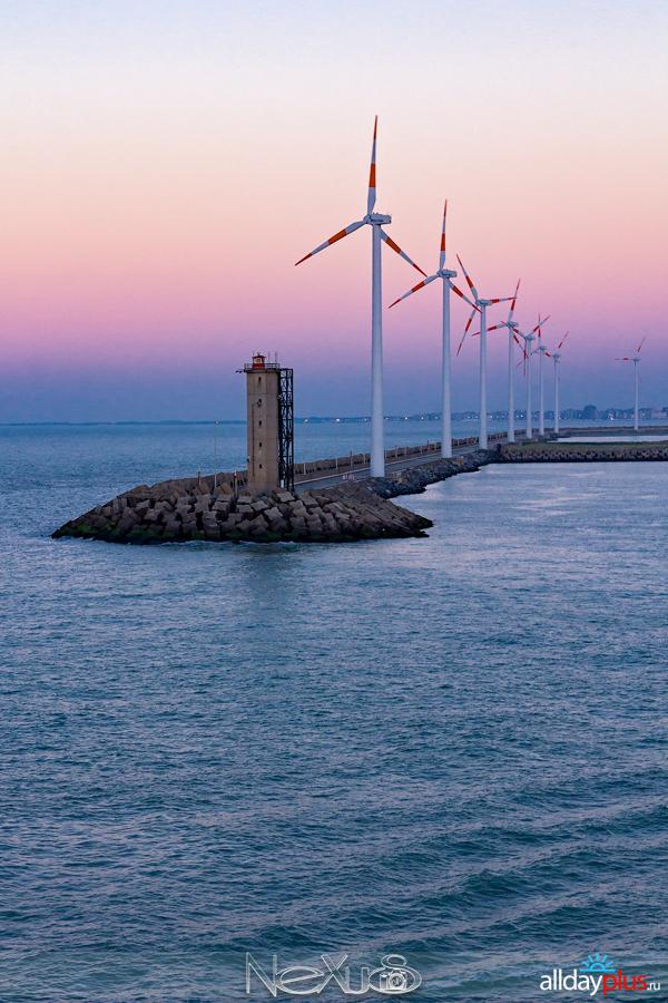 Три дня, три страны, три города #4 | морской порт Зе́брюгге.