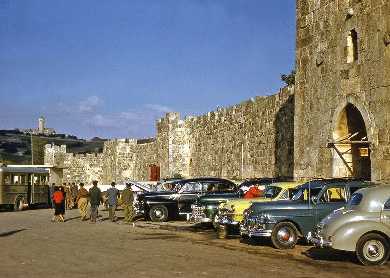 1950s Israel Jerusalem Herod's Gate.jpg