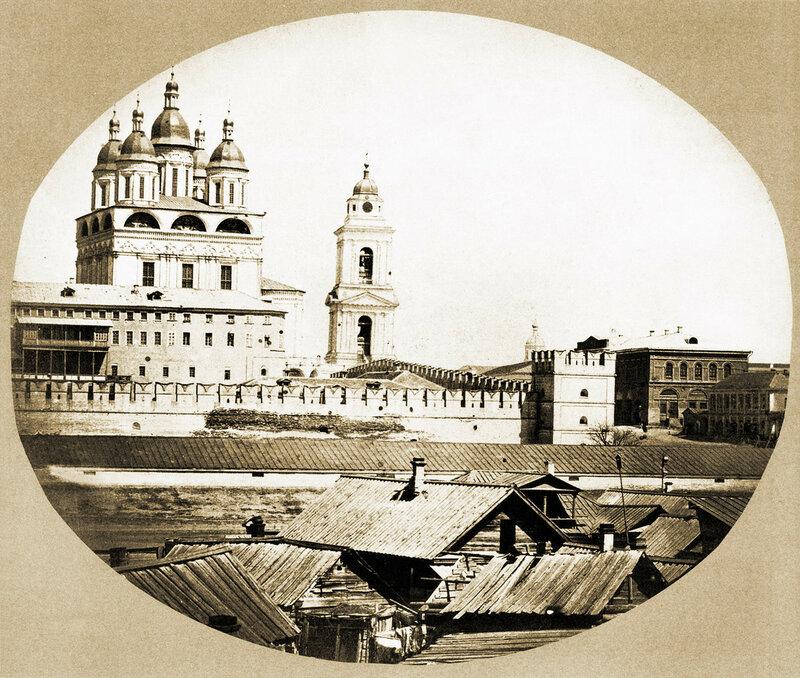 Самый первый известный снимок города (города бывшего СССР)
