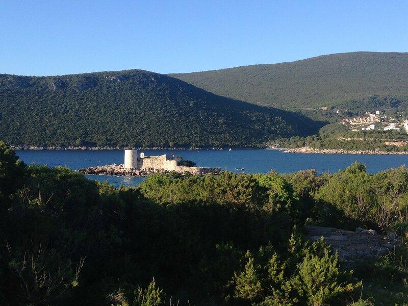 Луштица,австрийские крепости Кабала, Луштица и Арза