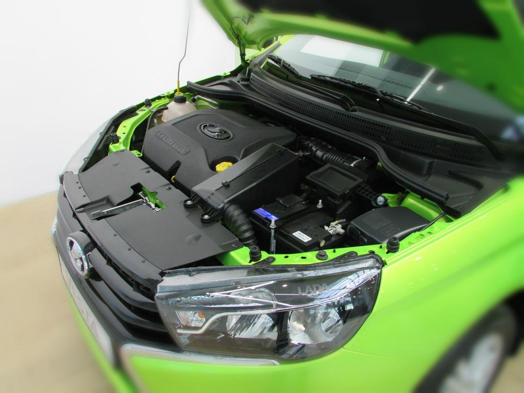 новый двигатель ВАЗ в машине