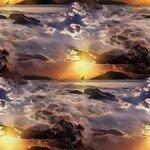 фоны природа,закат