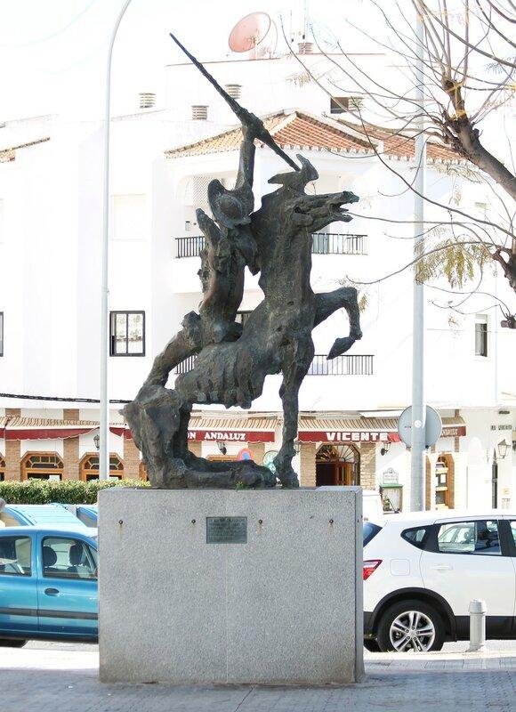 Нерха. Улица Малага (Calle Málaga)