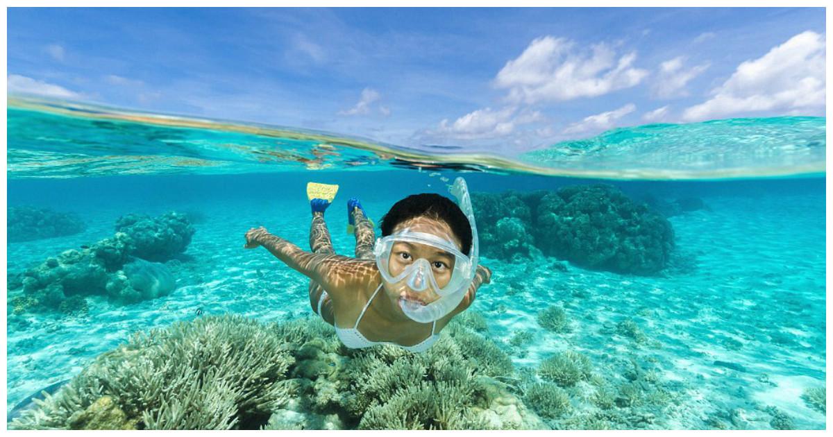 Диковинные места с самой прозрачной в мире водой (22 фото)