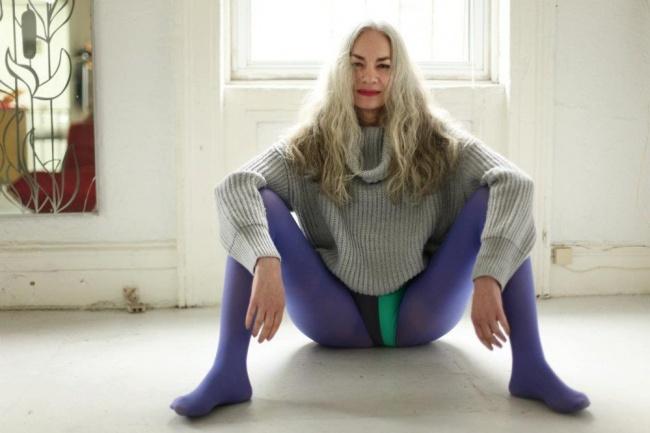 62-летняя модель снялась врекламе нижнего белья