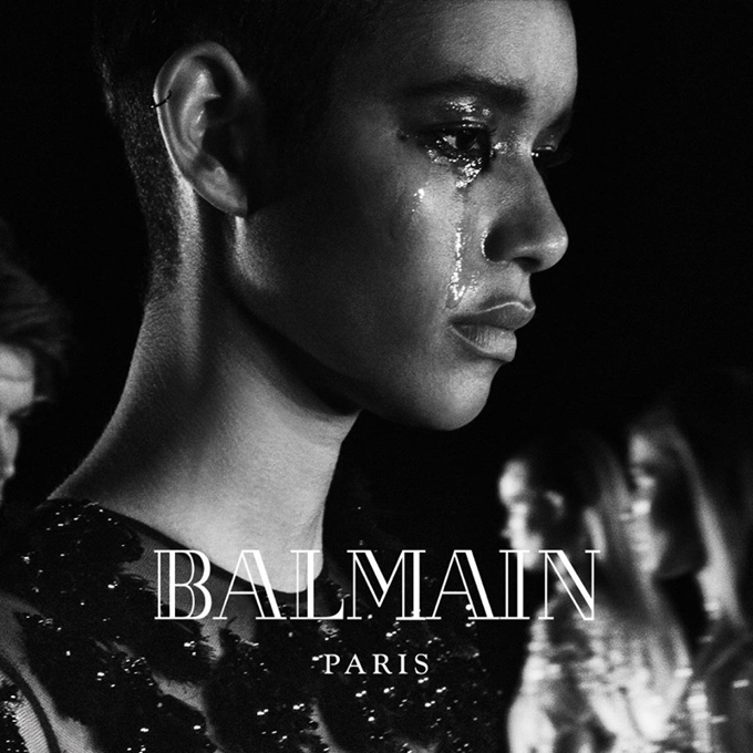 Рекламная кампания Balmain