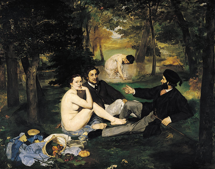 11. «Завтрак на траве». Двух французских художников Эдуарда Мане и Клода Моне нередко путают. Это и