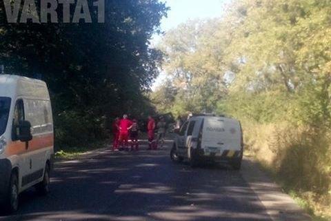 НаЛьвовщине взорвали автомобиль. Три человека погибло