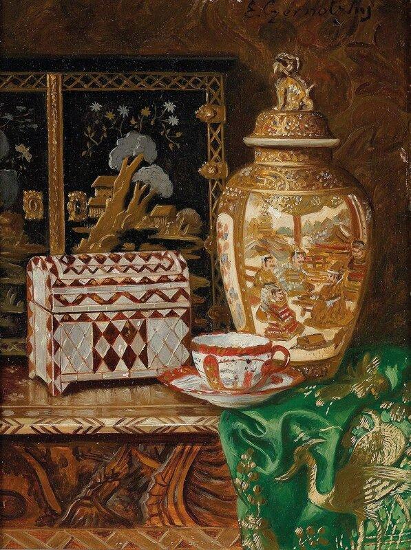 9. Натюрморт с азиатскими декоративными предметами.jpg