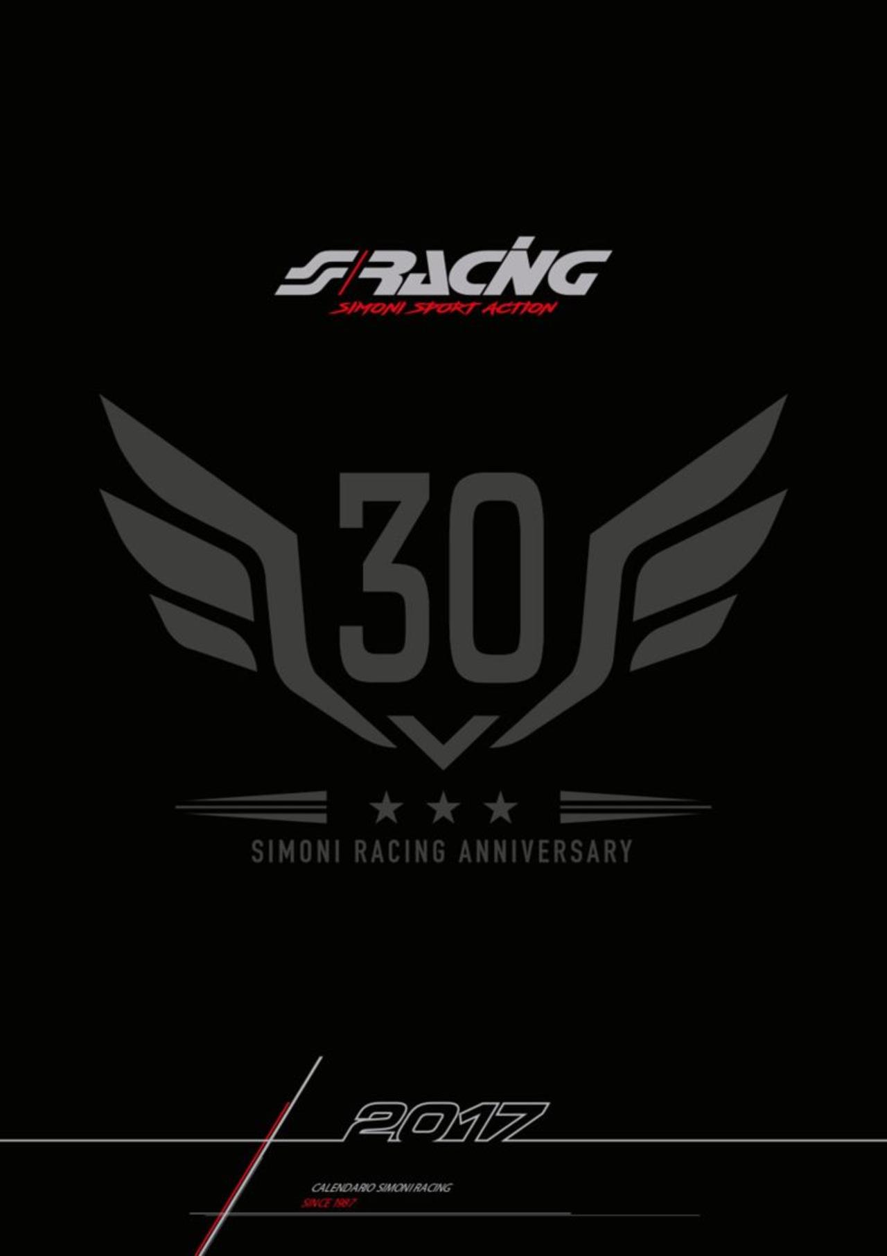 Эротический календарь в честь юбилея компании Simoni Racing