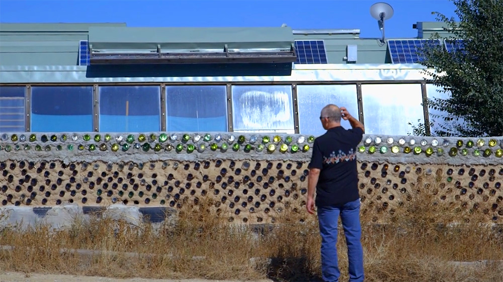 Earthships: Meet a Community in New Mexico Living in Incredible Off-The-Grid Homes Built From Trash