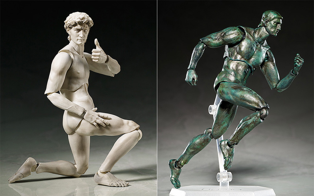 "Classical Sculpture Action Figures Bring ""David"" and ""Venus de Milo"" to Life (3 pics)"