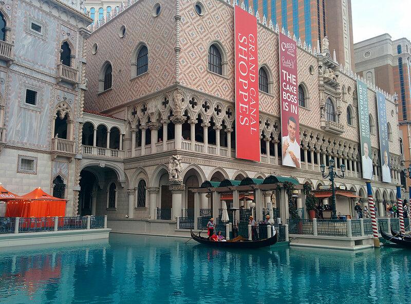 Лас Вегас Стрип – центральная улица.