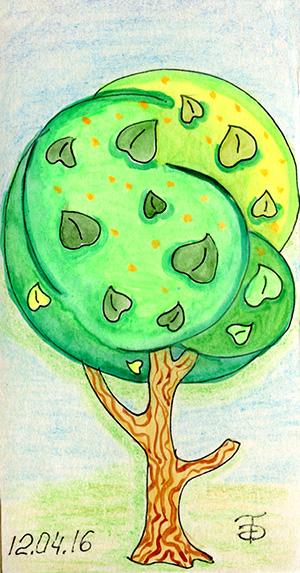Дерево - Липа. Оригинал