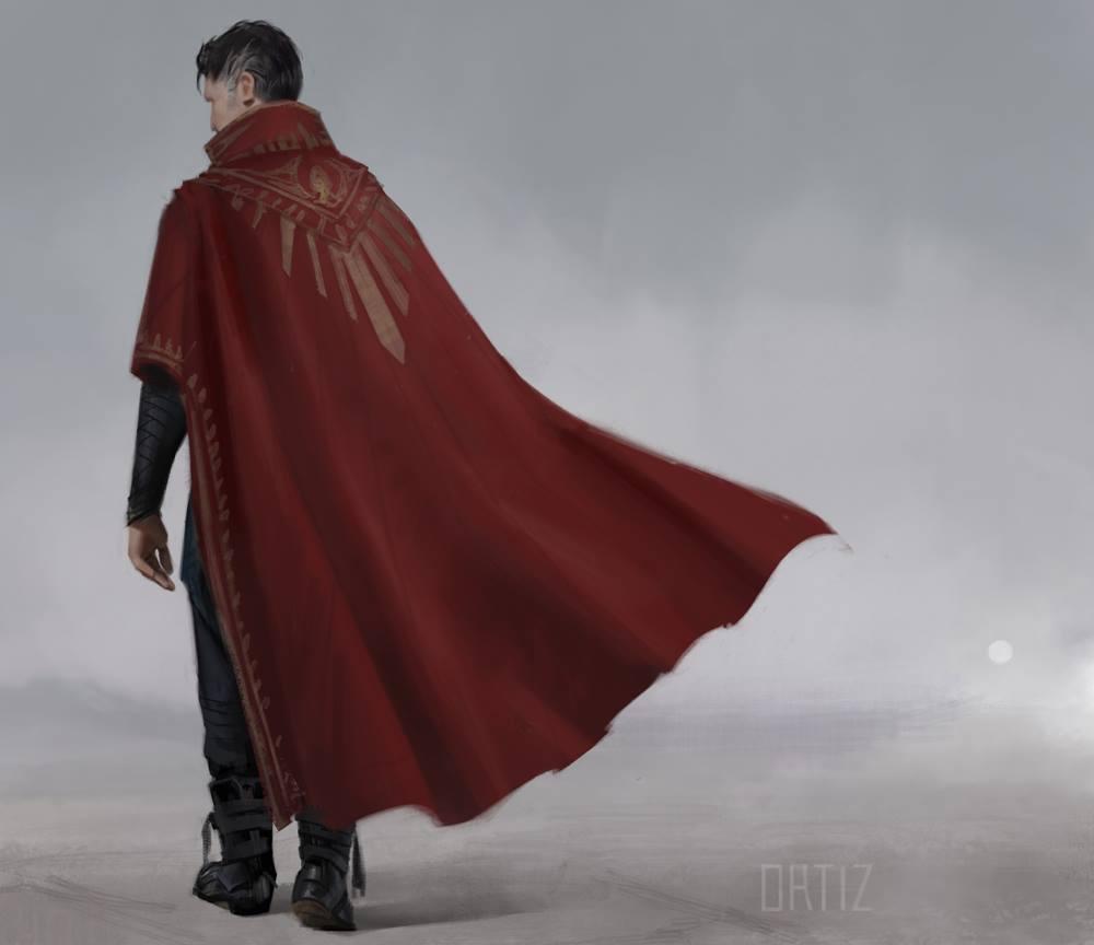 Doctor Strange Concept Art by Karla Ortiz