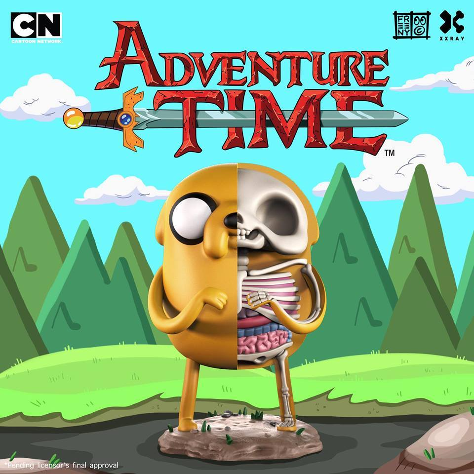 Jason Freeny's XXRAY Adventure Time Soon on Sale on Mighty Jaxx !