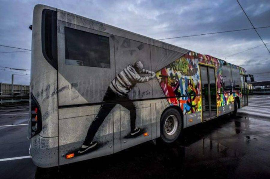 Creative Street Art Buses in Norway (12 pics)