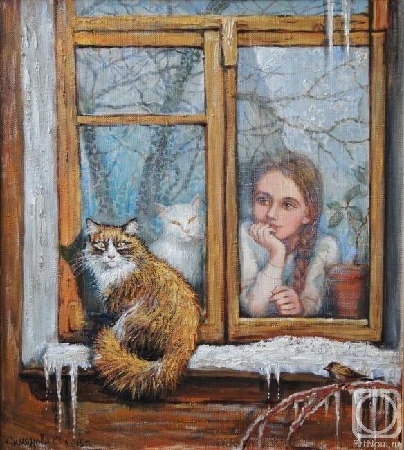 У меня есть котик - беленький животик. У меня теперь есть друг, преданный и верный.Ольга Симонова. Обсуждение на LiveInternet -