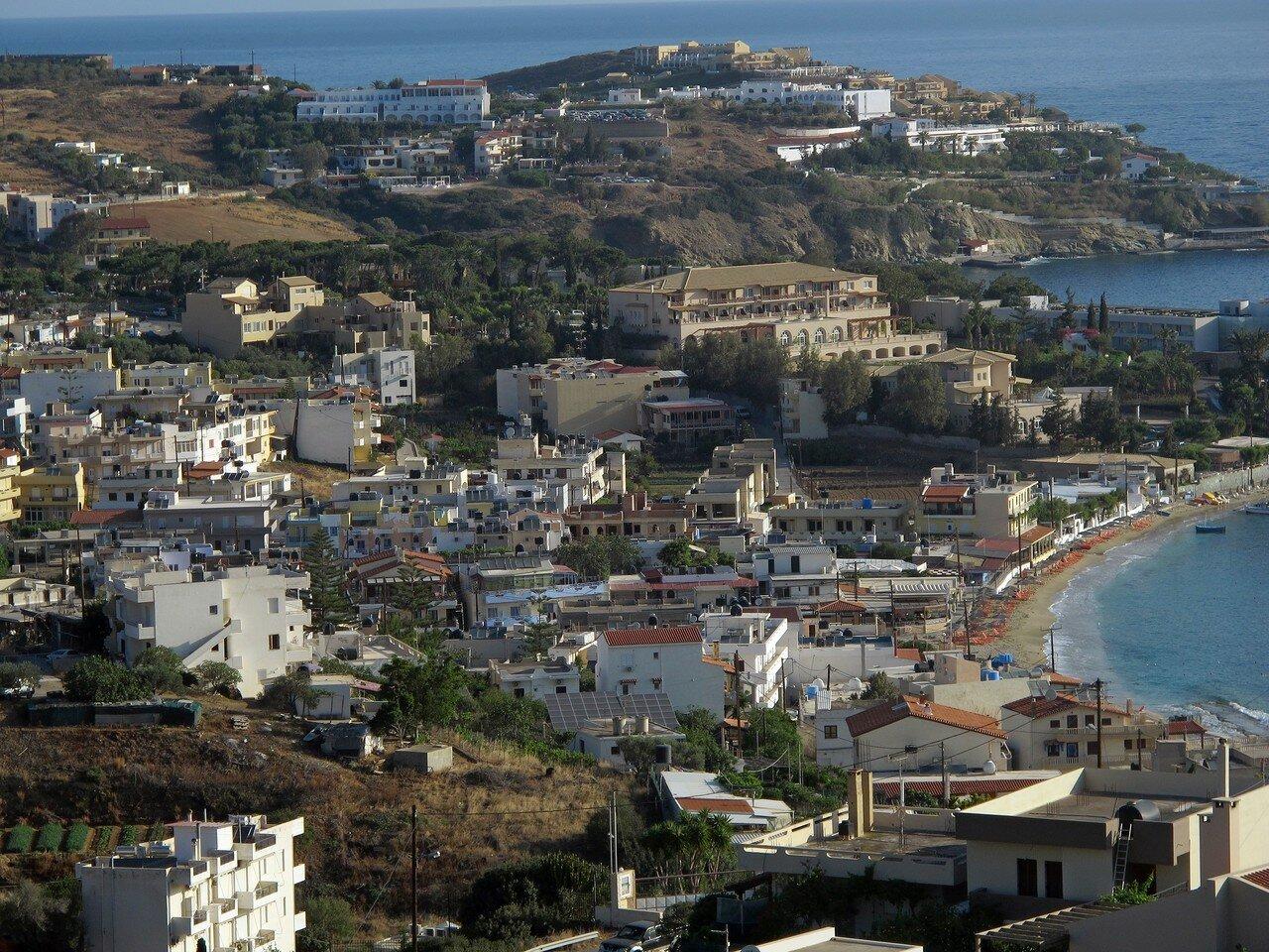 Вид на Крит с горы