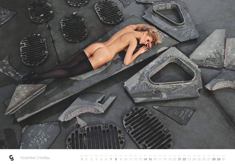 эротический календарь Краншип на 2015 год / фотограф Александр Мордерер