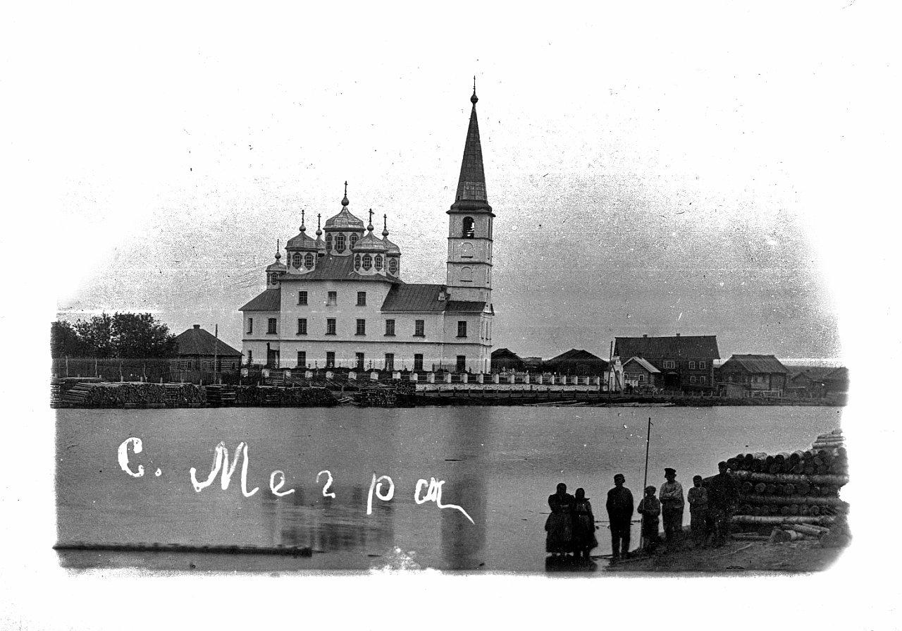 Окрестности Вытегры. Село Мегра