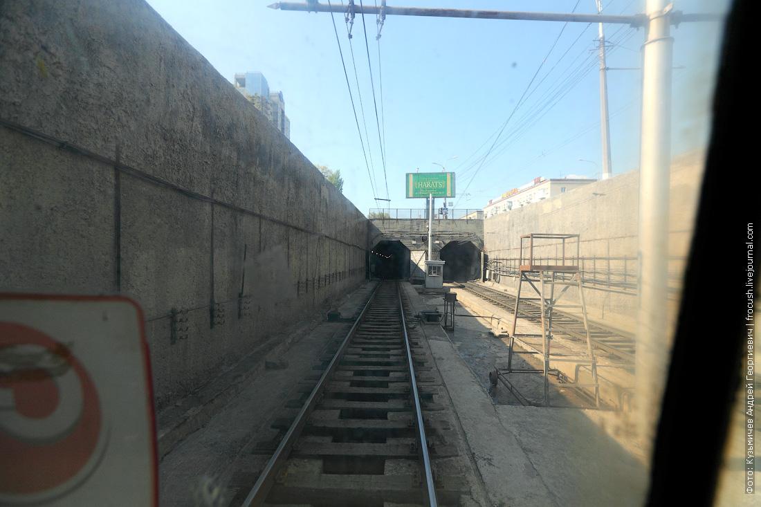 тоннели скоростного трамвая Волгограда