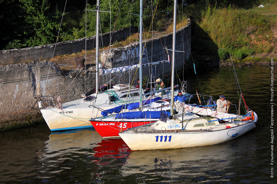 Яхты в ожидании
