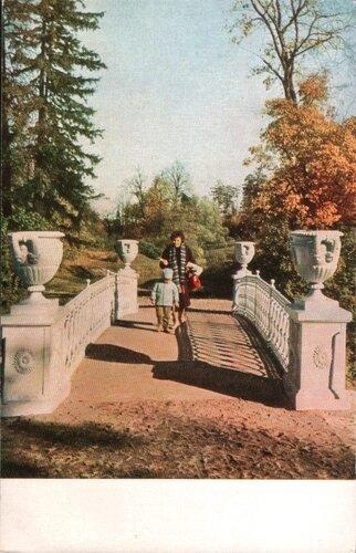 Павловск. 1965. Чугунный мостик