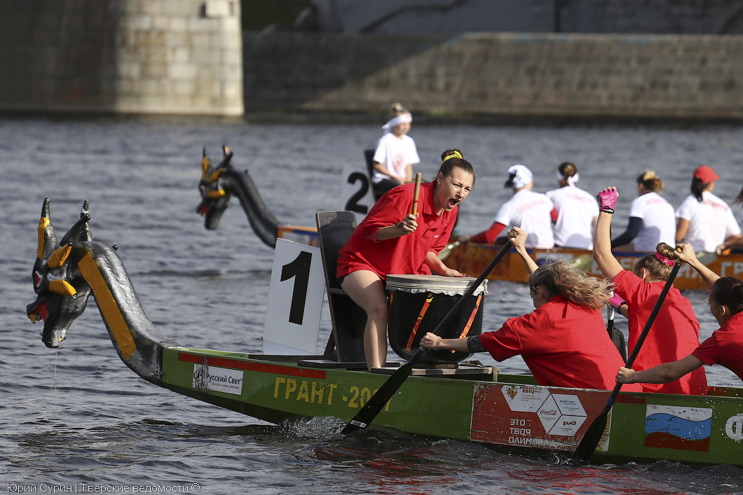 гонки на лодках драконах