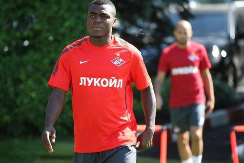 Тренировка Спартака 12-08-2011