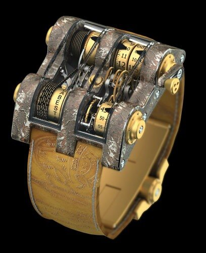 Romain Jerome Cabestan Titanic DNA Tourbillon Vertical