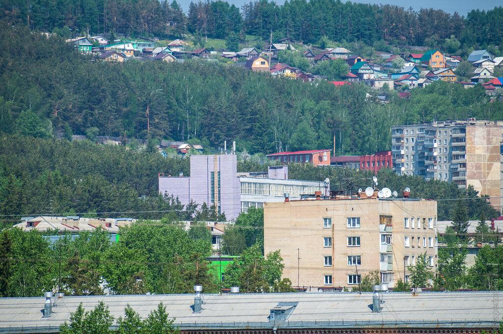 Златоуст. Вид со смотровой площадки Красной Горки