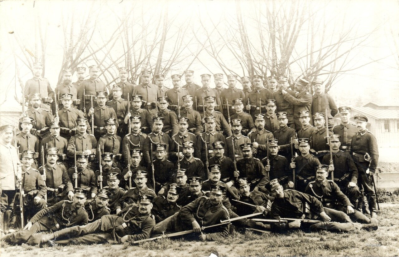 Landsturm infantrymen from the XIV Armeekorps at Konstanz in 1915