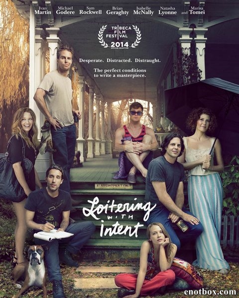 Почему сейчас?! / Loitering with Intent (2014/WEB-DL/WEB-DLRip)
