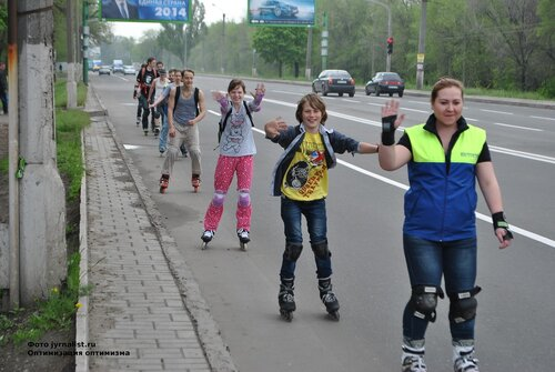 покатушки на роликах в пижаме луганск
