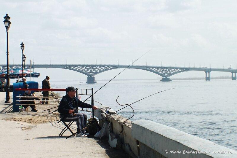 Открылись покатушки на кораблике, Саратов, Набережная Космонавтов, 02 мая 2014 года