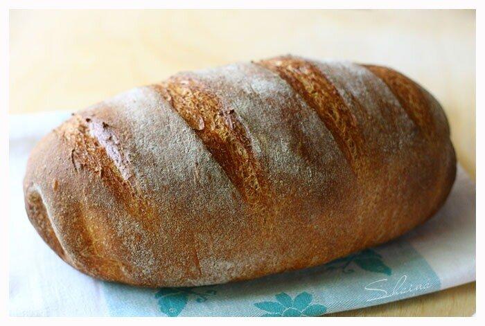Хлеб  Гармошка  (замес в хлебопечке)