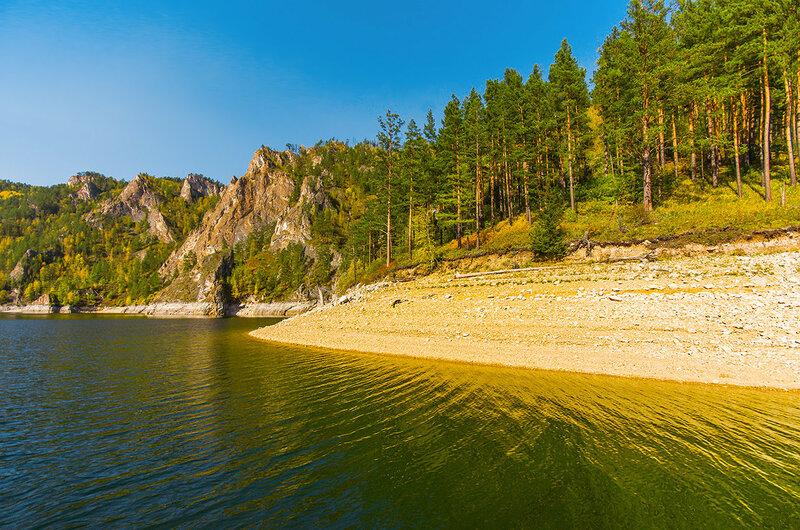 Жёлтый берег
