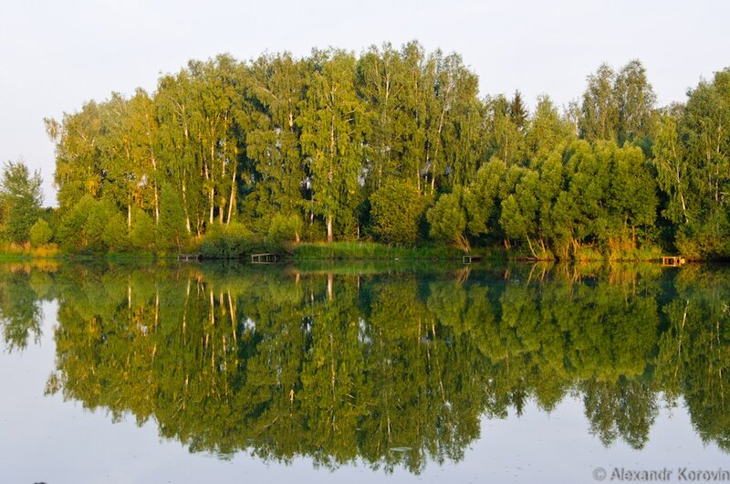 Озеро у Спас-Прогнани